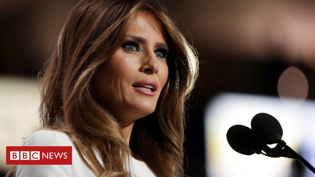 b3aa9b0c04d8e O polêmico discurso da mulher de Donald Trump