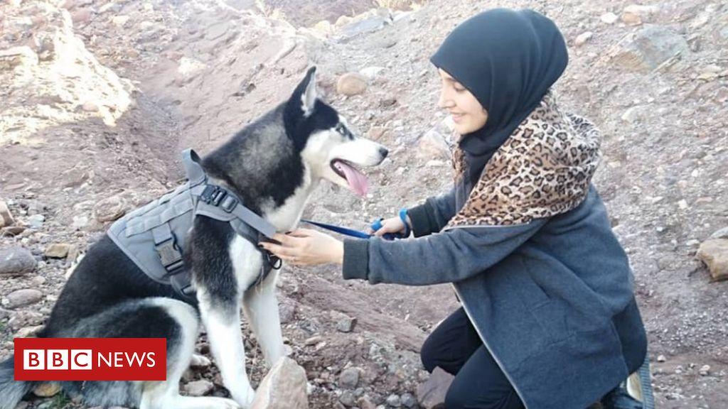 Eles mataram minha husky e disseram que mulheres não podiam ter cachorros'  - BBC News Brasil