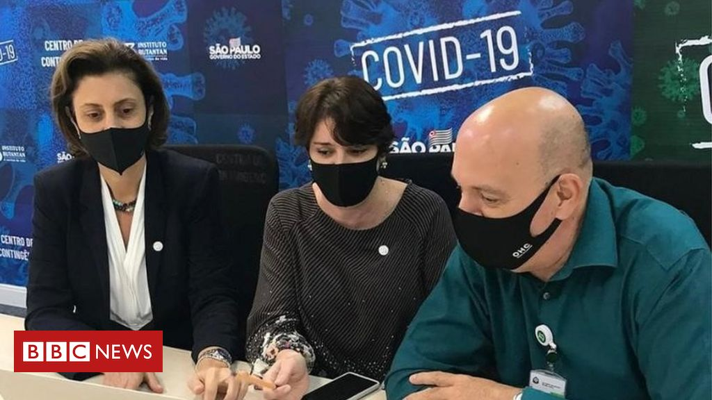 Como força-tarefa de cientistas encontrou variante do coronavírus em Sorocaba - BBC News Brasil
