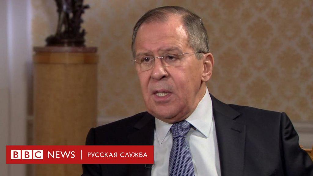 Очень интересное интервью с Сергеем Лавровым