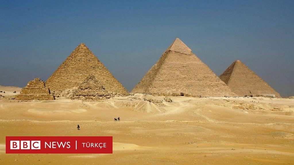 Misir Daki Buyuk Giza Piramidi Nde Kesfedilen Ucak Buyuklugundeki