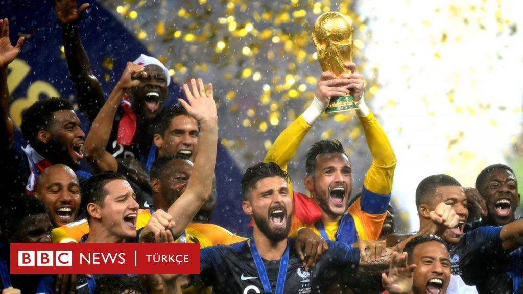 Dünya Kupası, Hırvatistan'ı 4-2 yenen Fransa'nın