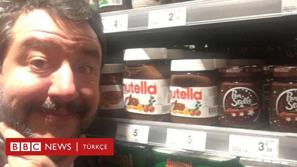 Aşırı sağcı İtalyan politikacı Salvini, Türk fındığı kullandığı için Nutella'ya boykot çağrısı yaptı