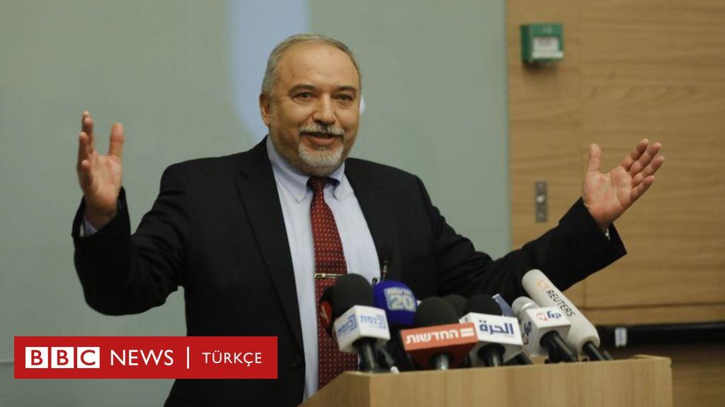 İsrail Savunma Bakanı Lieberman istifa etti