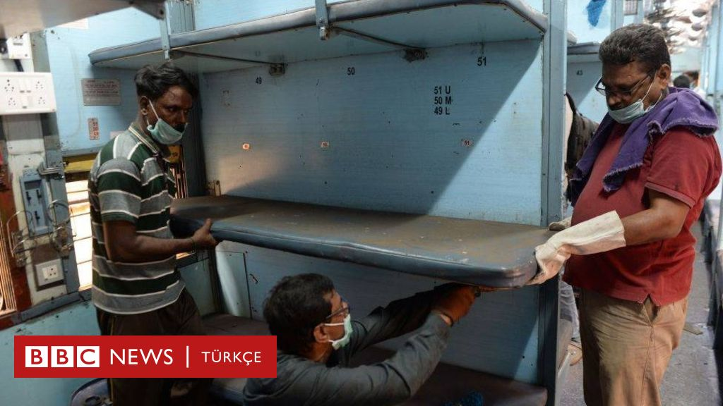 Hindistan tren kompartımanlarını karantina koğuşlarına dönüştürüyor