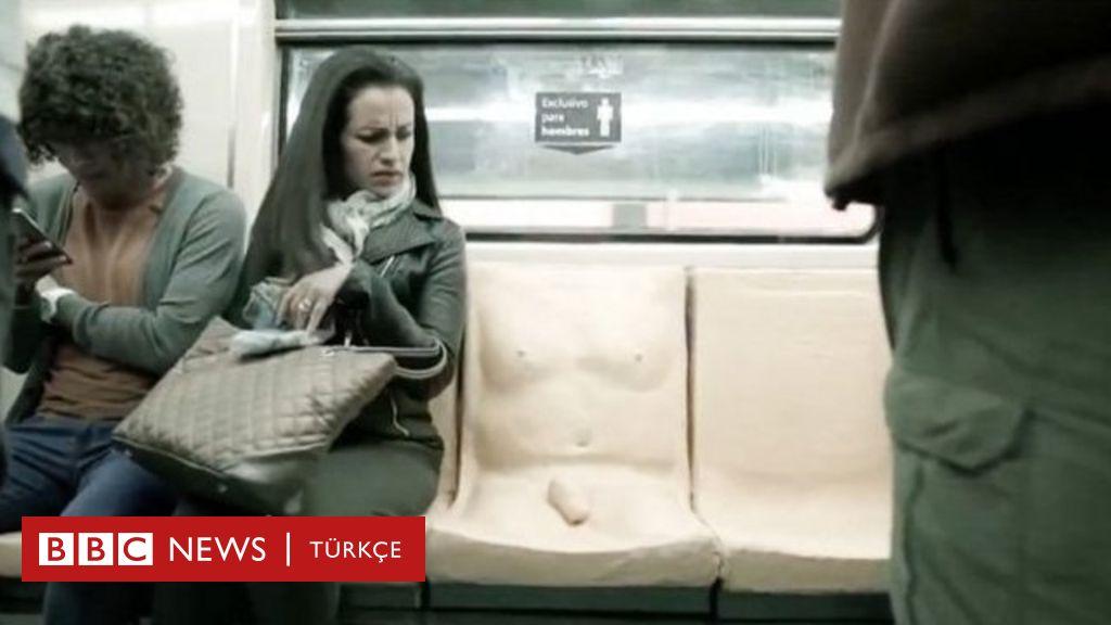 Meksikada erkek yolculara özel penisli koltuk
