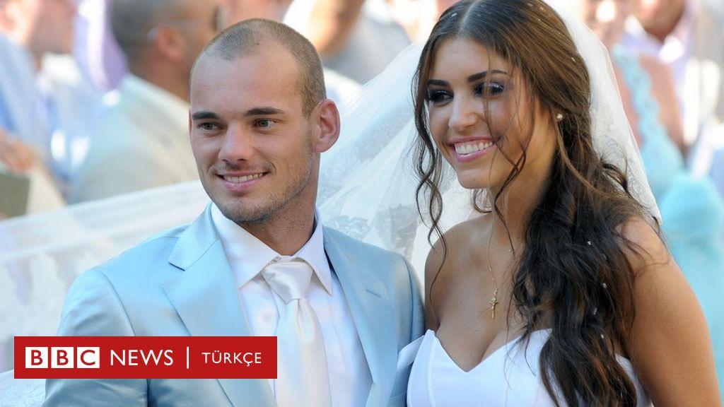 Galatasaraylı eski futbolcu Sneijder ile Yolanthe Cabau boşanıyor