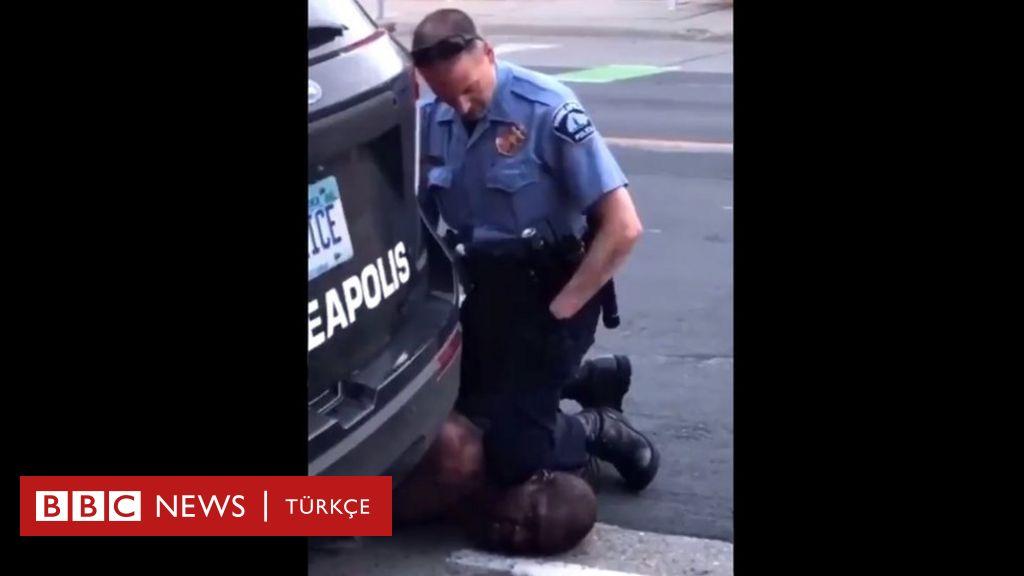 ABD'de 4 polis infial yaratan görüntüler ve silahsız siyahın gözaltında ölümü sonrası görevden alındı