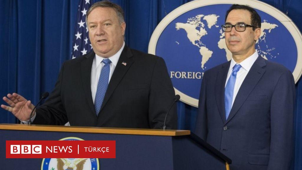 ABD'nin İran yaptırımları: Türkiye dahil 8 ülke geçici olarak muaf