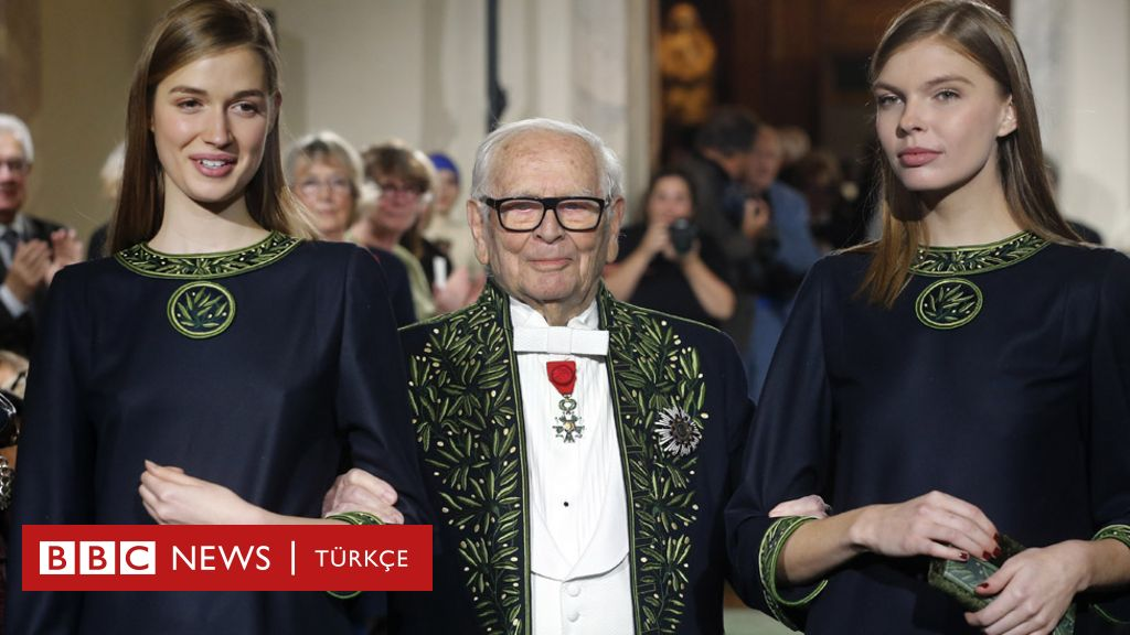 Moda dünyasında çığır açan Pierre Cardin 98 yaşında hayatını kaybetti - BBC News Türkçe