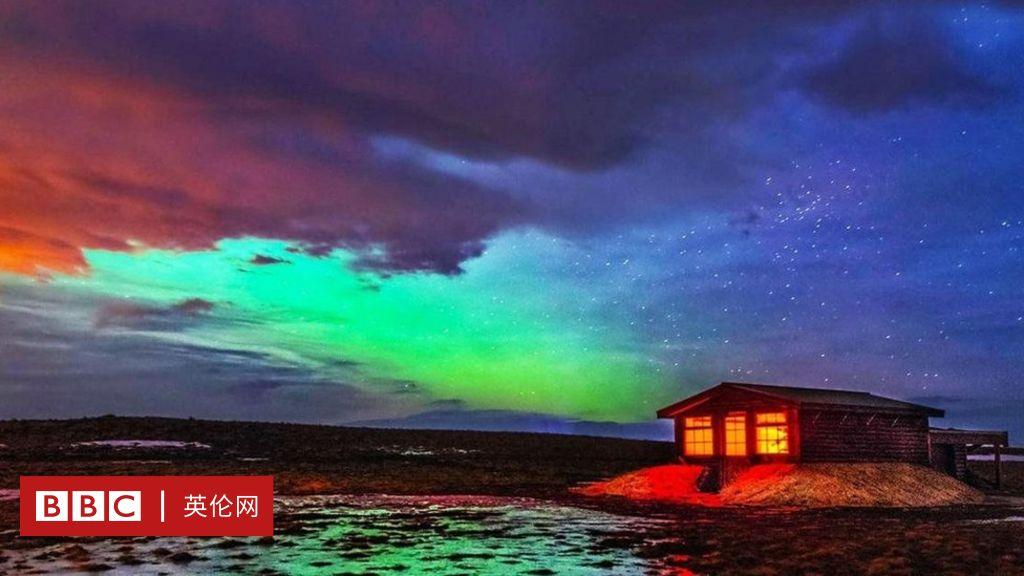 在冰島欣賞難得一見的極地夜空