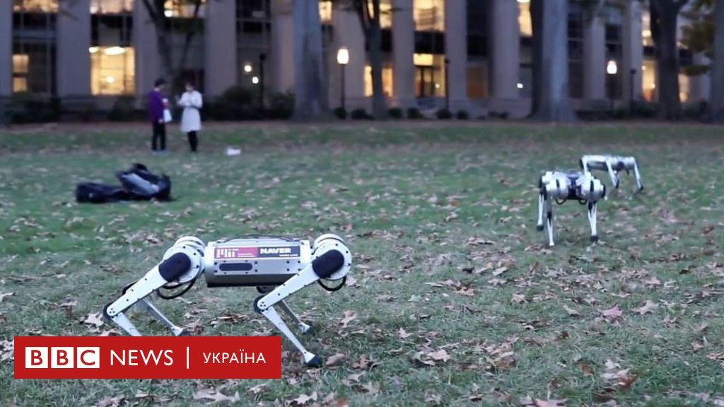 Чотирилапий робот робить сальто назад і зможе рятувати людей