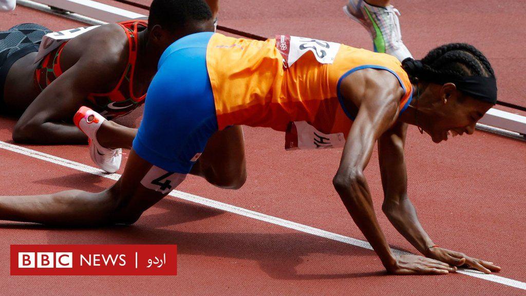 ٹوکیو اولپکس 2020: جذبے کی اعلی مثالوں سے لے کر ایک غیر متوقع منگنی تک، ٹوکیو اولمپکس کے سب سے متاثر کن لمحات thumbnail
