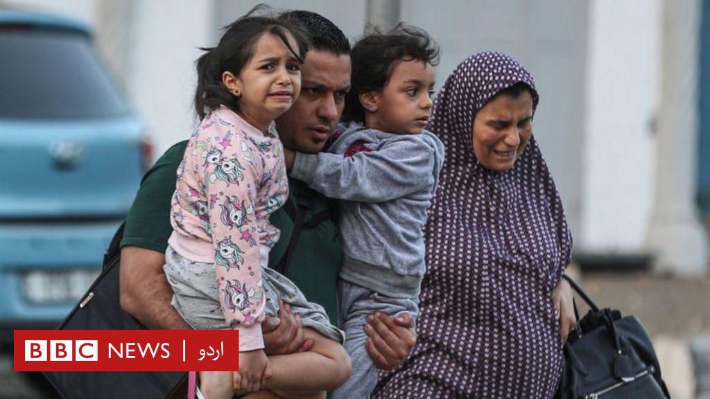 بی بی بی سی اردو - فلسطین، اسرائیل تنازع: غزہ پر اسرائیلی حملوں کا سلسلہ جاری، اقوامِ متحدہ کے نمائندے کی تشدد بند کرنے کی اپیل thumbnail