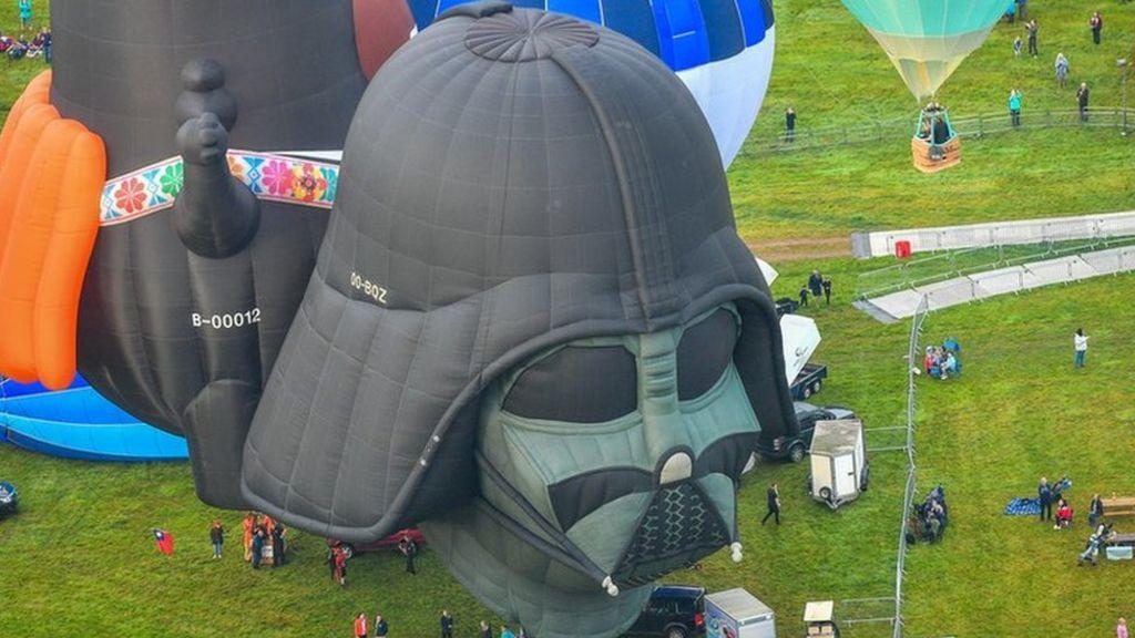 balloon ascent hot air first