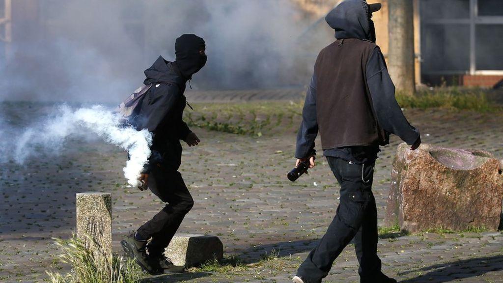 Germany bans far-left protest website over G20 riots