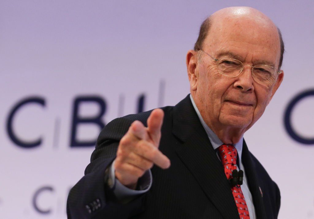 Wilbur Ross at the CBI conference