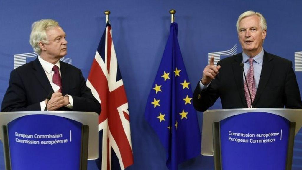 Brexit talks resume: Get down to business, David Davis urges