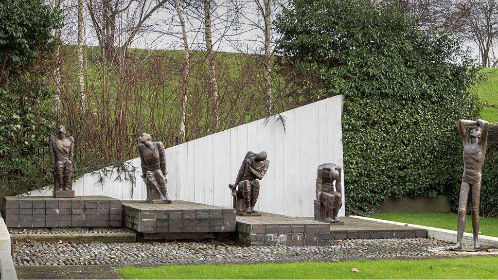 Prisoner of War Memorial by Fred Kormis, 1967-69 - Dollis Hill, London.