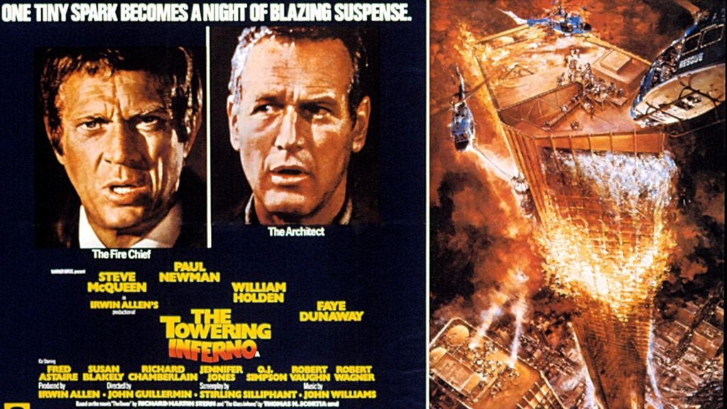 Towering Inferno director John Guillermin dies at 89 - BBC News