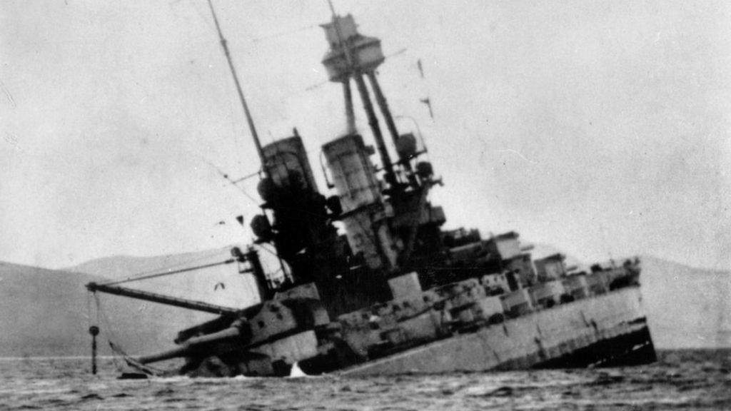 Scapa Flow scuttling: The day the German navy sank its own ships