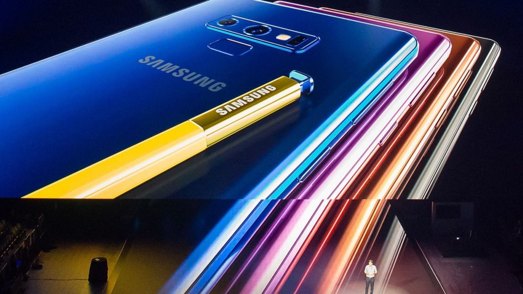 Samsung Galaxy Note 9 alerts users to bad photos - BBC News