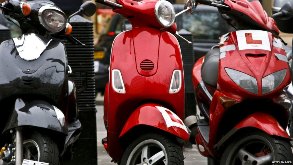 Moped crime: Police told not to be scared to chase scooters - BBC News