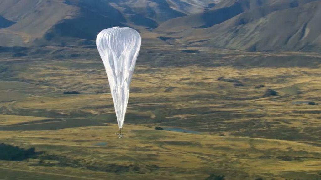 bbc.co.uk - Google's Loon brings internet-by-balloon to Kenya