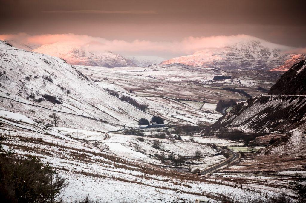 Golygfa aeafol yng Nghwm Prysor // A winter's view of Cwm Prysor