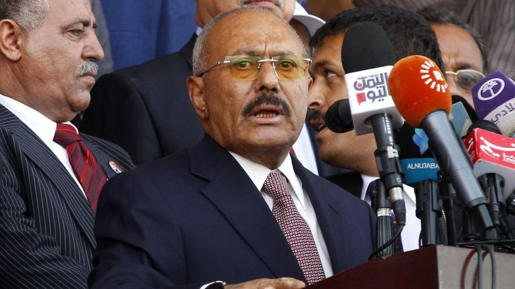Ali Abdullah Saleh, Yemen's former leader, killed in Sanaa fighting