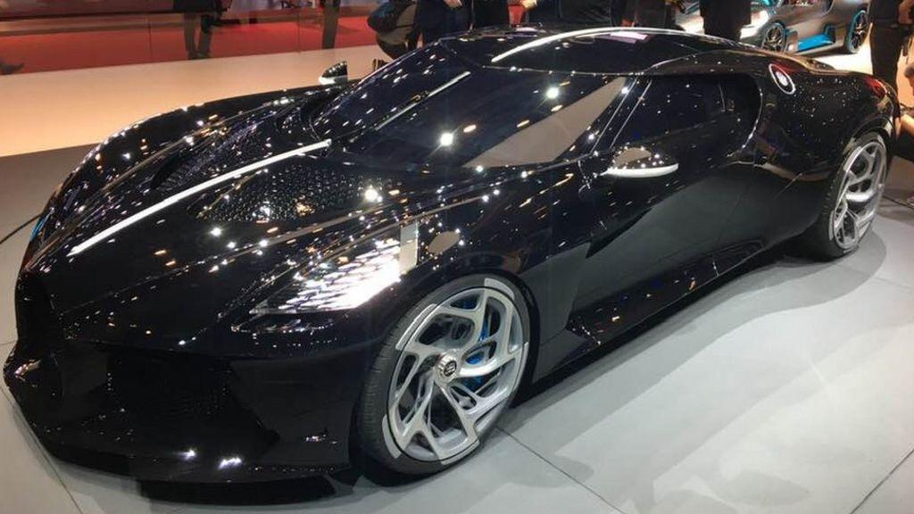 Bugatti Unveils The World S Most Expensive New Car Bbc News