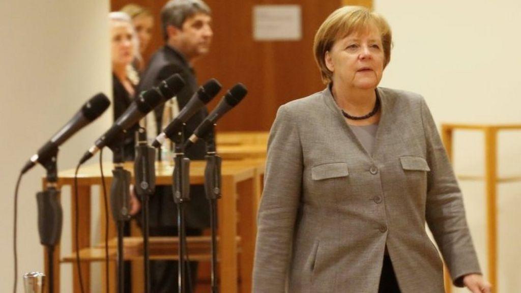 Blow for Merkel as German talks collapse