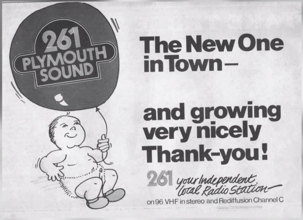 Plymouth Sound Radio poster