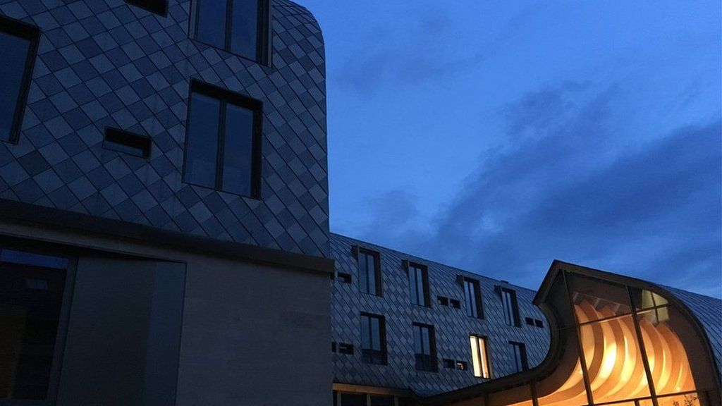 The new Exeter College building on Walton Street
