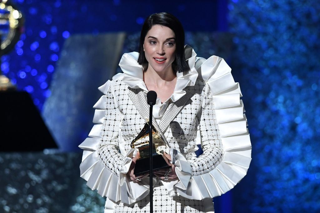 St Vincent at the Grammys