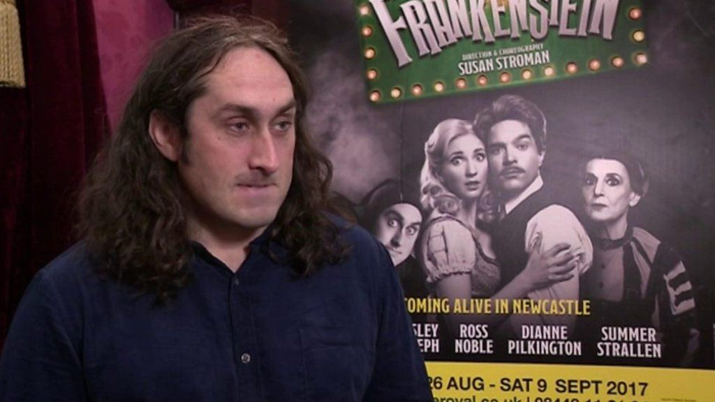 Comedian Ross Noble excited by Young Frankenstein role