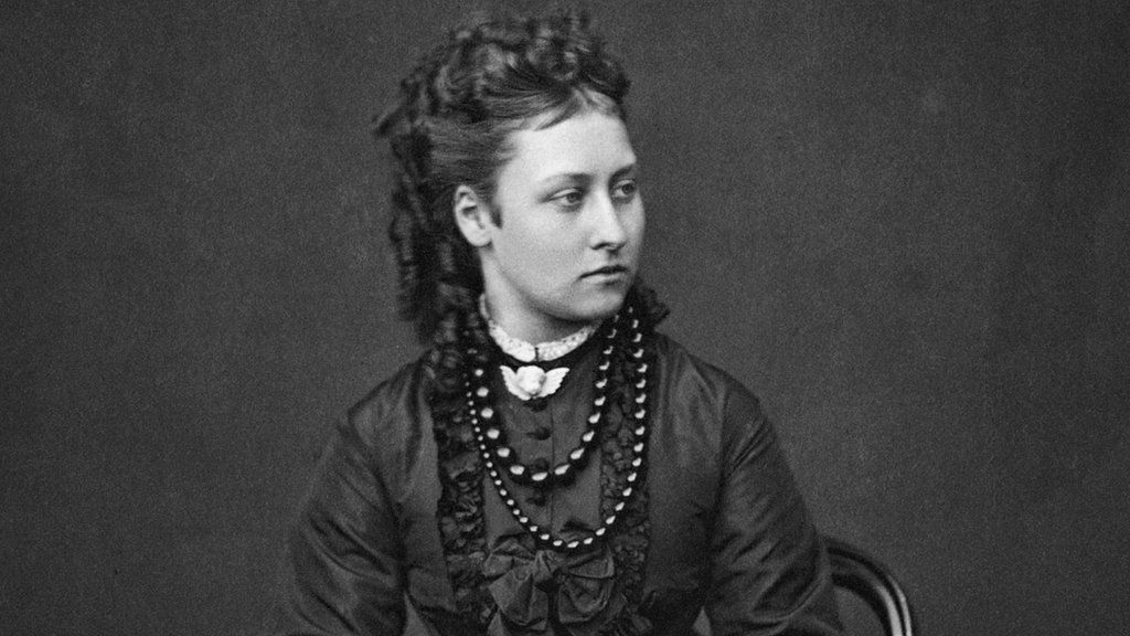 Princess Louise, sixth child of Queen Victoria and Prince Albert, in 1871