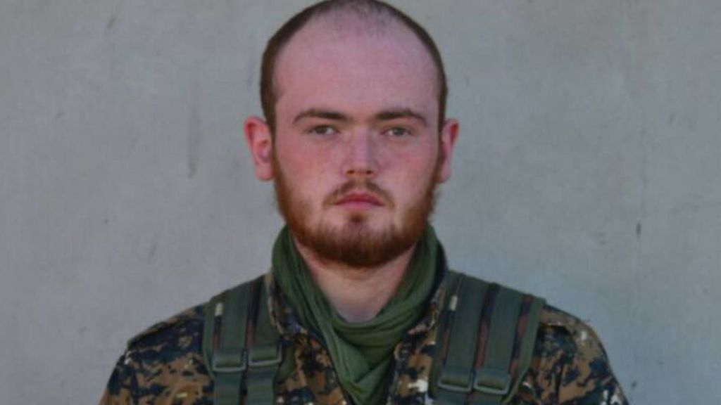Briton Luke Rutter killed fighting IS in Syria