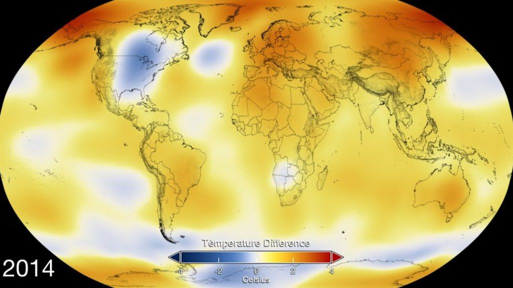 Warming set to breach 1C threshold - BBC News