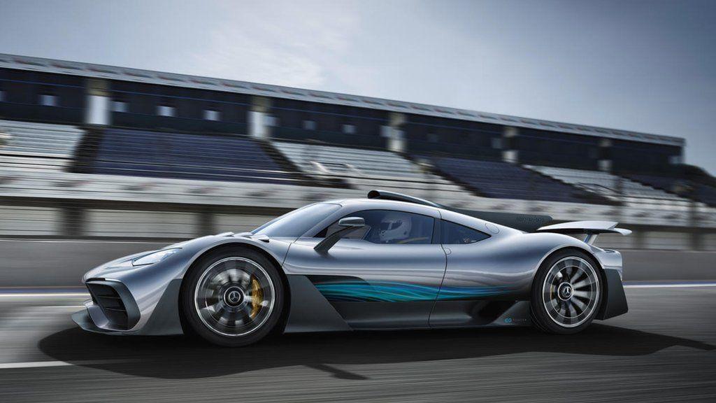 Mercedes unveils its F1 hybrid hypercar