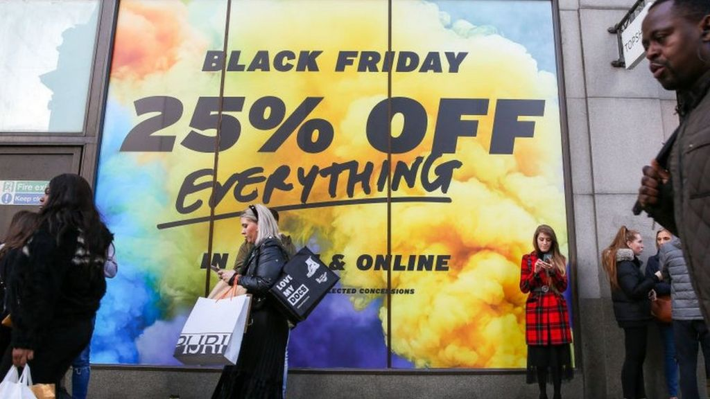 Black Friday Brings Uk Retailers Welcome Boost Bbc News