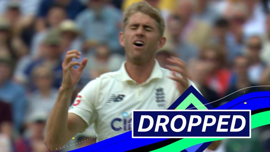 England v New Zealand: Joe Root drops Will Young at first slip