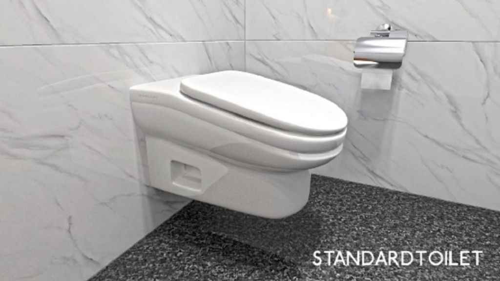 Social Media Awash With Scorn For Sloping Toilet Bbc News