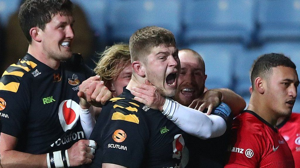 Premiership: Eight-try Wasps hammer Saracens 60-10 in first game since Dai  Young's exit - BBC Sport