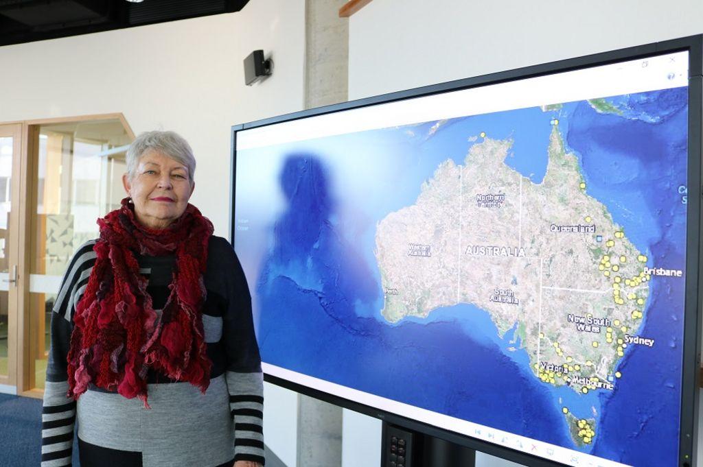 Map charts early massacres of indigenous Australians