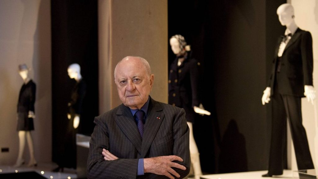 Saint Laurent partner Pierre Bergé dies