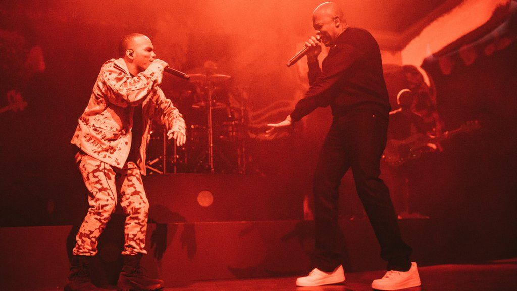 Dr Dre and Anderson .Paak