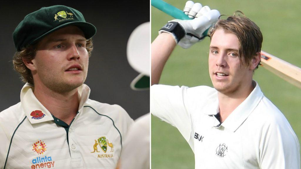 Australia v India: Will Pucovski and Cameron Green in Australia Test squad  - BBC Sport