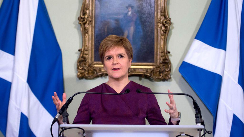 Scottish independence: Johnson rejects Sturgeon's indyref2 demand