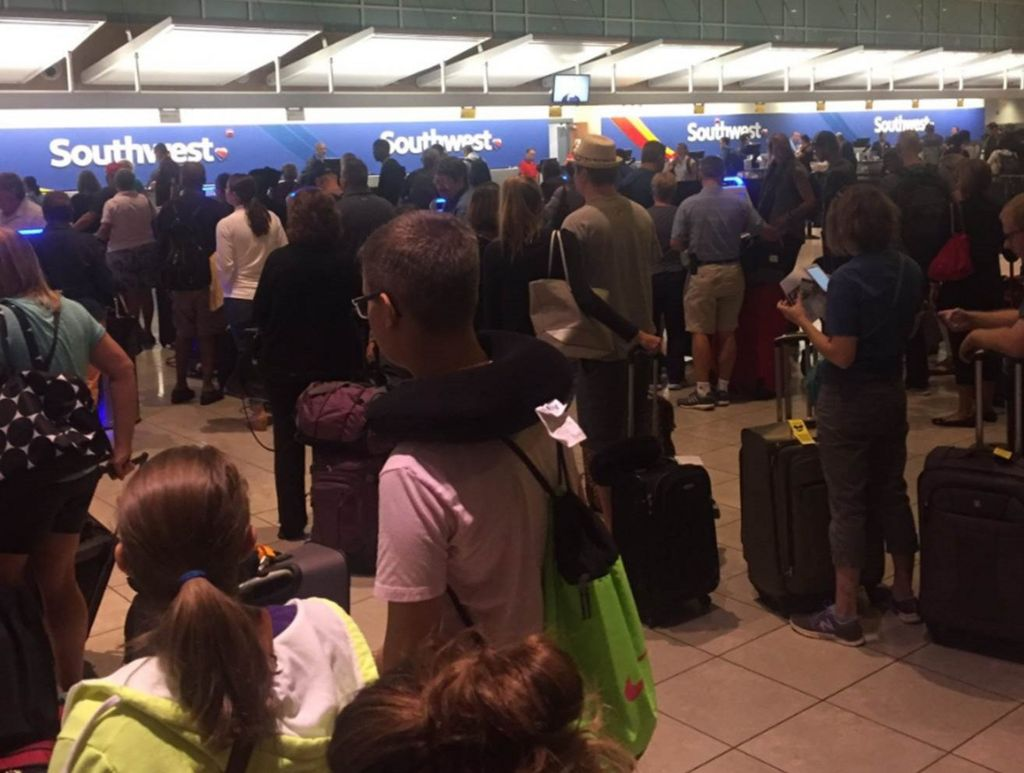 Software issue causes airport delays